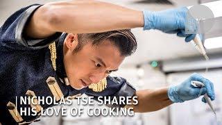 Nicholas Tse shares his love of cooking