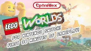 Nintendo Switch - LEGO Worlds First 30 Minutes of Gameplay