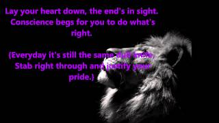 KNIFES&PENS BY BLACK VEIL BRIDES (LYRICS)