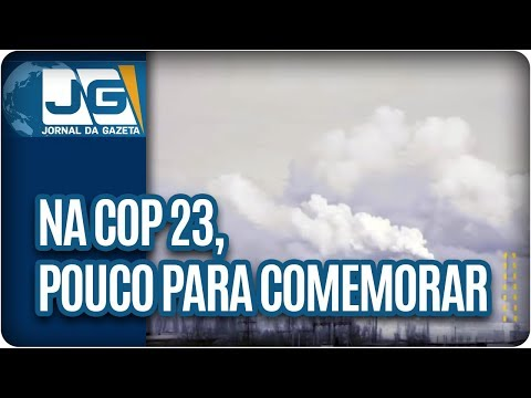 Na COP 23, pouco a comemorar