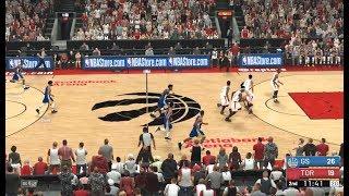 Toronto Raptors VS Golden State Warriors GAME 1 NBA2K19 CPU VS CPU 猛龙 VS 勇士 总觉第一场模拟 NBA2K19