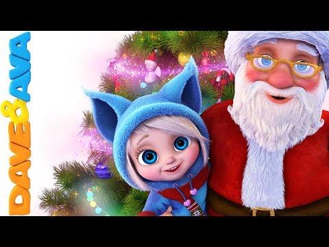 🎅  Christmas Songs for Kids | Christmas Carols | Dave and Ava 🎉