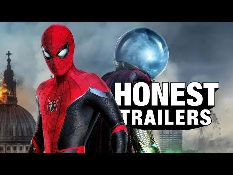 Spider-Man: Daleko od domova - Upřímné trailery