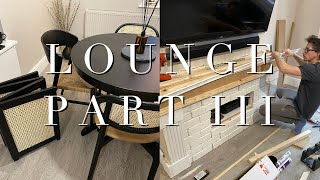 New Dining Chairs & Building A Faux Fireplace
