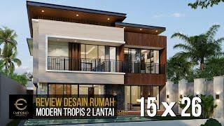 Video Desain Rumah Modern 2 Lantai Bapak Ali di  Denpasar, Bali