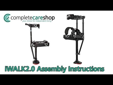 iWALK2.0 Hands Free Crutch Assembly Instructions