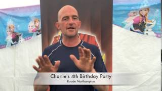 Charlie's 4th Birthday party