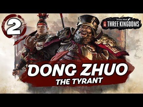 LÜ BU CHARGES INTO BATTLE! Total War: Three Kingdoms - Dong Zhuo - Romance Campaign #2