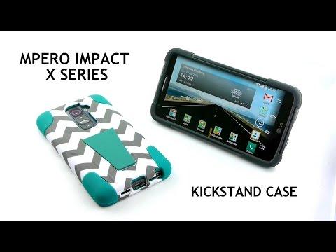 MPERO IMPACT KICKSTAND CASE | Handyhülle für Smartphones (LG, Samsung, Nokia, Motorola)