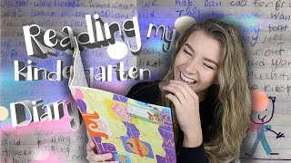 READING MY OLD DIARY FROM WHEN I WAS 7|| Georgia Productions