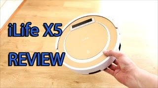 iLife X5 Robot Vacuum & How To Use