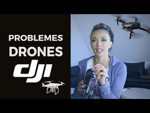 LES PROBLEMES AVEC LES DRONES DJI