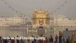 Golden Temple at Amritsar