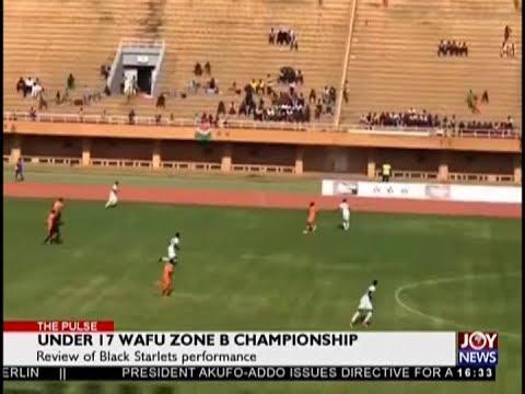 Under 17 WAFU Zone B Championship - The Pulse Sports on JoyNews (17-9-18)