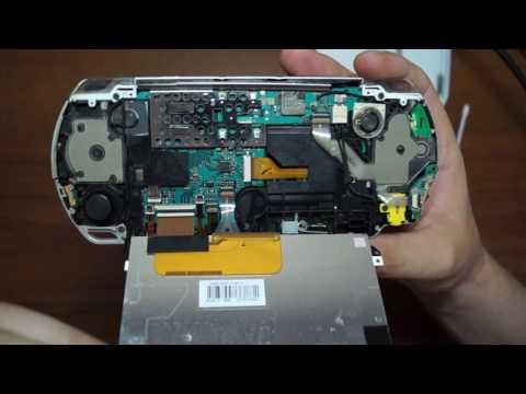 Супер обзор и ремонт PSP E - 3008, SONY PLAYSTATION, снаружи и внутри