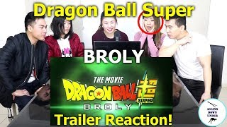 Dragon Ball Super: Broly Movie Trailer - Comic Con 2018   Reaction - Australian Asians