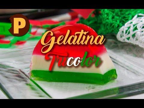 Vídeo Gelatina tricolor