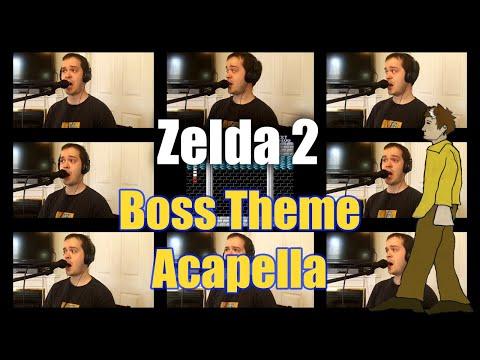 Zelda 2 Boss Theme Acapella - Jaron Davis