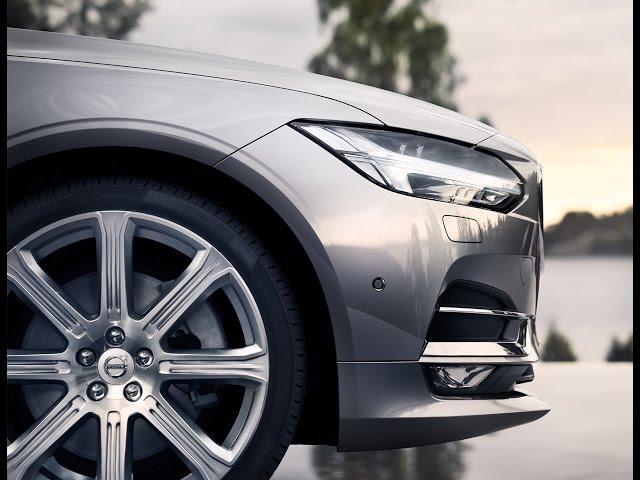 The New Volvo V90: Live Reveal
