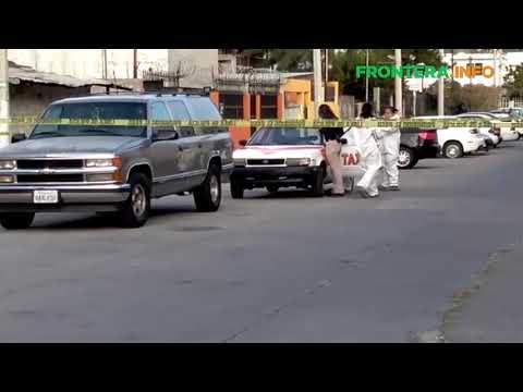 Encuentran cadáver dentro de taxi libre abandonado en Tijuana