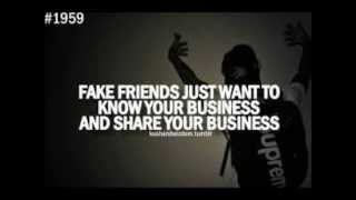 Fake Friends And Real Friends Quotes