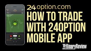 How to Trade With 24Option Mobile App