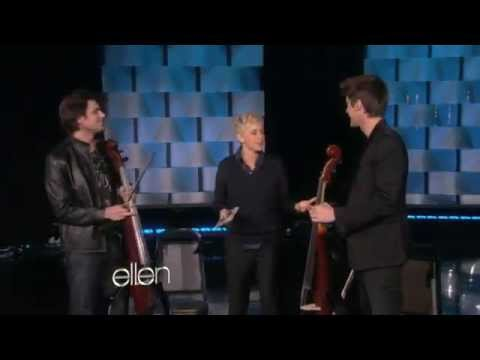 2CELLOS - Welcome To The Jungle (Live on Ellen Degeneres)