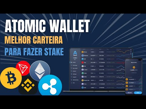Como Instalar e Usar Atomic Wallet | Carteira de Bitcoin e Criptomoedas | Para Computador e Celular