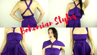 Convertible Dress Tutorial| Dress And Charm