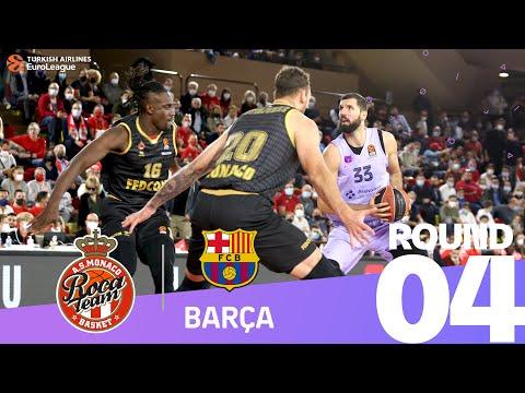 RS Round 4 Highlights: Monaco 81-85 Barcelona