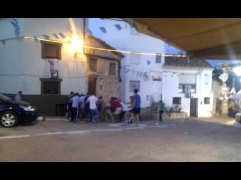 Vaquillas suelta en Vallanca