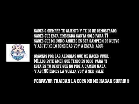 """""""PRIMER SENCILLO DE LA #EscuelaMusicalEmbajadora"""" Barra: Comandos Azules • Club: Millonarios • País: Colombia"""