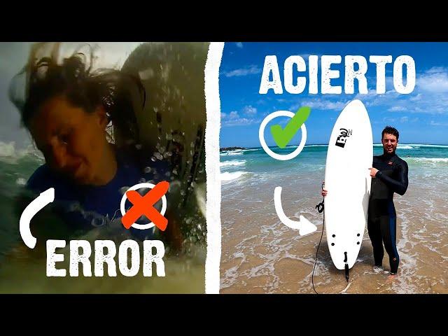 Accidentes en el surf – Consejos por Borja Agote