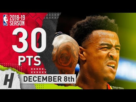John Collins Full Highlights Hawks vs Nuggets 2018.12.08 - 30 Pts, 5 Ast, 12 Rebounds!