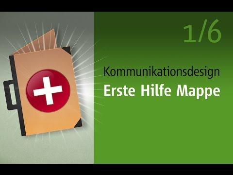 Bewerbungsmappe Kommunikationsdesign: Erste Hilfe 1/6  video2brain.com
