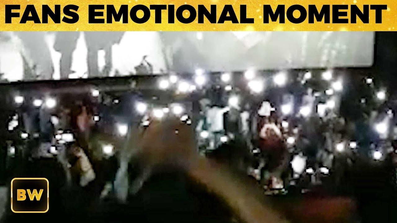 SARKAR: Thalapathy Fans Emotional Moment | Vijay | TK