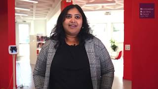 Vidya, MBS international student (India) - MSc in Digital Management