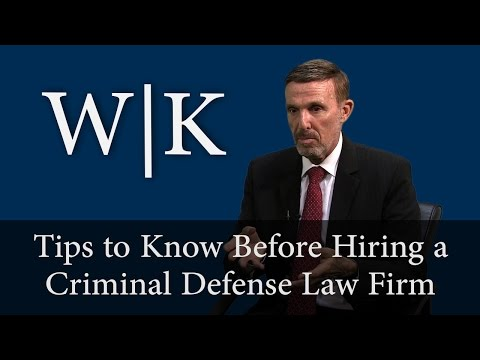 Tips to Know Before Hiring a Criminal Defense Attorney