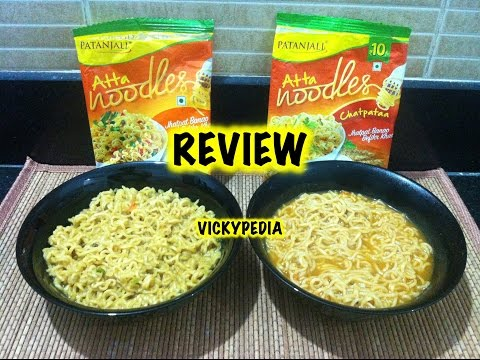 , title : 'Patanjali Noodles / Patanjali Atta Noodles Review - Atta or Maida?'