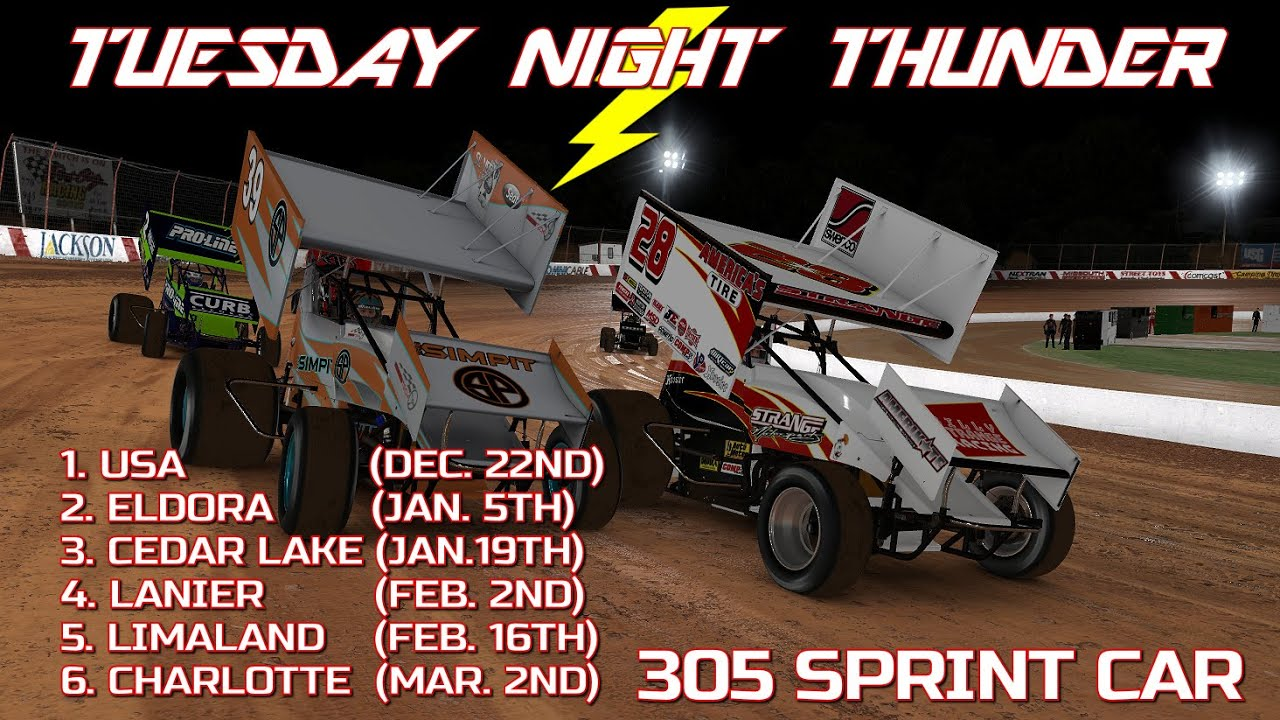 Billy Strange Racing launches iRacing Sprint Car League