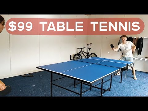 $99 table tennis unboxing