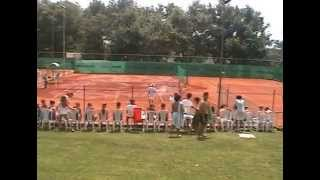 preview picture of video 'Genazzano Tennis Camp 2014'