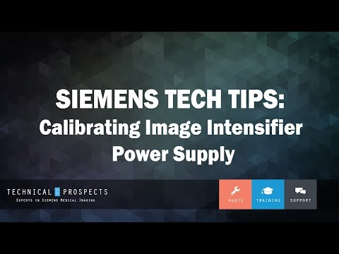 Calibrating Image Intensifier Power Supply