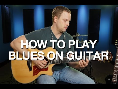 How To Play Blues On Guitar - Blues Guitar Lesson #1