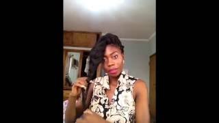 Janelle monae inspired hair with braids