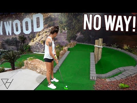 How Does That Even Happen?! - Crazy Mini Golf Assist!