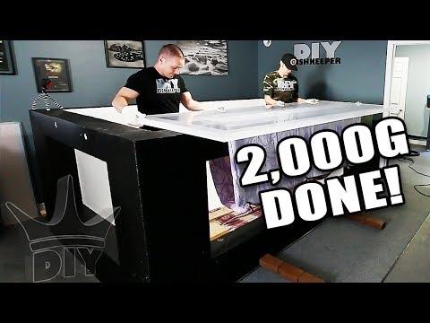2,000G completed  - Aquarium gallery UPDATE!