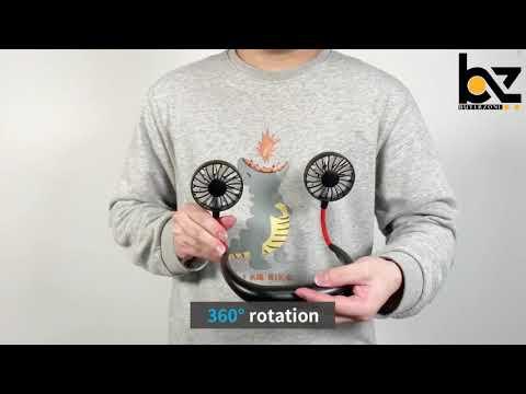Portable Neckband Fan