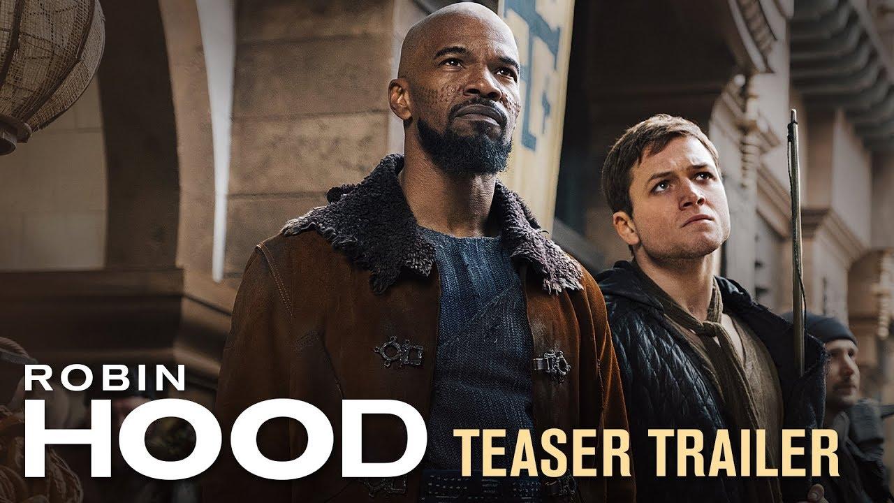 Video trailer för Robin Hood (2018 Movie) Teaser Trailer – Taron Egerton, Jamie Foxx, Jamie Dornan