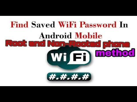 View Saved WiFi Passwords on Android Phones and Tablets